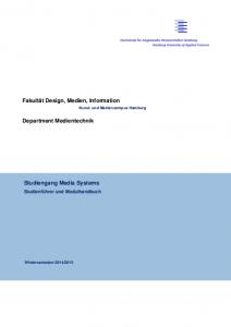 Modulhandbuch Media Systems SS16 herunterladen