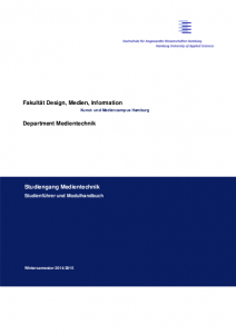 Modulhandbuch Medientechnik SS16 herunterladen